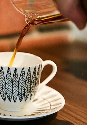 hur många matskedar kaffe per kopp