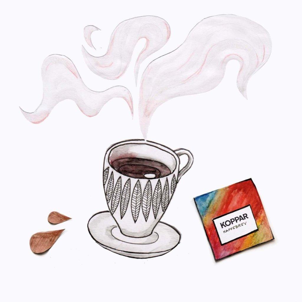 kaffe bra för hälsan